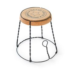 Champagne Cork Side Table, 109€, now featured on Fab.