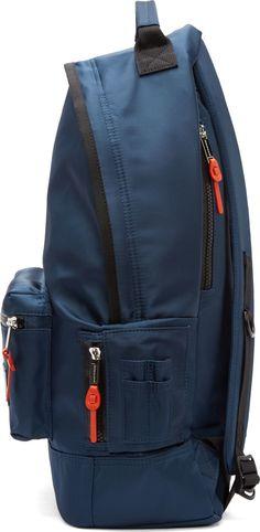 Krisvanassche SSENSE Exclusive Navy Nylon Backpack