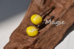 M+M Haarklammern gelb