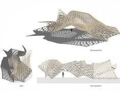 Hex canopy #rhino3d #grasshopper3d #parametric by jdipss