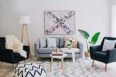 17 Salas pequenas coloridas estilo escandinavo ~ Decoração e Ideias | casa e jardim