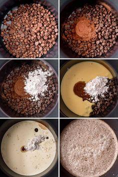 Slow Cooker Hot Chocolate Recipe, Crock Pot Hot Chocolate Recipe, Hot Chocolate Milk, Chocolate Powder, Homemade Hot Chocolate, Hot Chocolate Recipes, Chocolate Flavors, Crockpot Hot Cocoa Recipe