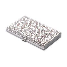 Bouquet crystal business card holder case crystal cardholdercase snowflake crystal business card holder case crystal cardholdercase swarovski http colourmoves