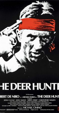 Directed by Michael Cimino.  With Robert De Niro, Christopher Walken, John Cazale, John Savage. An in-depth examination of the ways in which the U.S. Vietnam War impacts and disrupts the lives of people in a small industrial town in Pennsylvania.