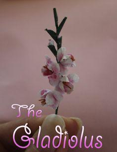 GIARDINO Fiore in Plastica Scala 1:12 Casa delle Bambole Miniatura FIORE