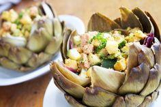 Vegetarian Tapas, Vegan Challenge, Artichoke, Starters, Potato Salad, Healthy Recipes, Healthy Meals, Healthy Food, Healthy Lifestyle