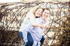 Jessie & Richard's engagement photo shoot on our rooftop | Kristin Lavoie Photography