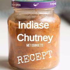 Recept Chutney Courgette pittig Indiaas Dit en meer op moestuinblog De Boon in de Tuin | http://deboon.blogspot.nl