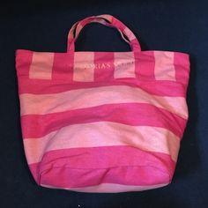 Victoria's Secret bag Large, pink, tote, unused Victoria's Secret Bags Travel Bags
