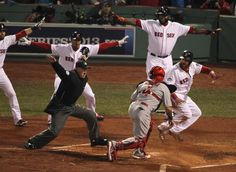 World Series Game 6: Let's all call Mike Napoli safe!