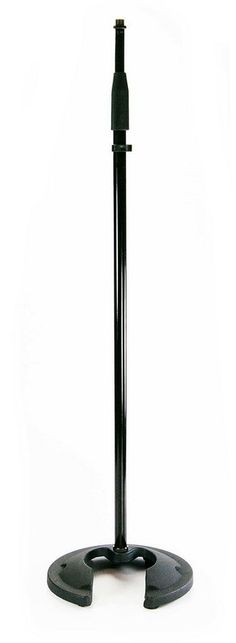 Whirlwind STNDMR Round Base Microphone Stand | Adjustable Height