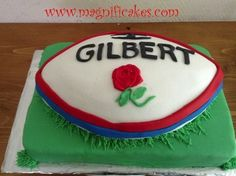 Rugby cake