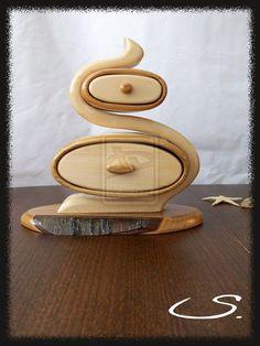 Wooden Handmade Jewelry Box by anakristina052106.deviantart.com on @deviantART