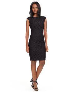 Lace Sheath Dress - Lauren Short Dresses - RalphLauren.com