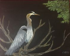 Tennessee Blue Herron For sale in prints Terry-tuley.pixels.com Acrylic Paintings, Landscape Paintings, Tennessee, Fine Art, Bird, Prints, Animals, Animales, Animaux