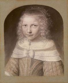 Wallerant Vaillant (1623 – 1677) portrait of Alida Elias (1647-1691), 1653 - Amsterdam Museum