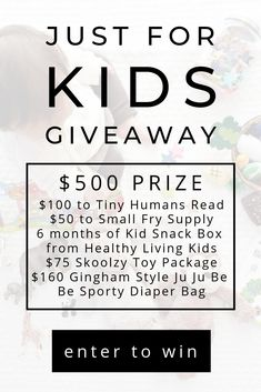 Just for Kids Giveaway Kids Snack Box, Laos Travel, Mail Yahoo, Please Vote For Me, Enter Sweepstakes, Valentines Day Wishes, Look Here, Enter To Win, Futurism