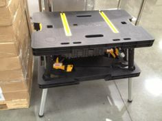 79 Keter Folding Work Table W Adjustable Legs Costco