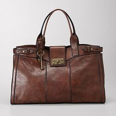 I love Fossil. This Vintage Re-Issue Weekender is so gorgeous. $228