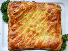 chicken leek pie. may make this with leftover roast chicken and homemade chicken stock