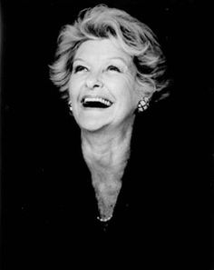 Elaine Stritch. (The Original Lady Who Lunched.)