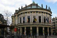Antwerpen - Restaurant Bourlaschouwburg