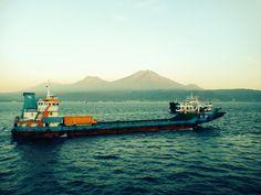 ferry in bali strait