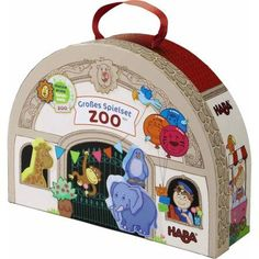 Haba At the Zoo Large Play Set, Multicolor