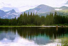 Fly Fishing on Mountain Lake | Roger Dullinger