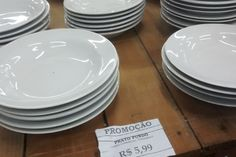 prato comercial Schmidt, African Pottery, Shopping Hacks, Kitchen Storage, Plates, Ceramics, Tableware, Diy, Home Decor