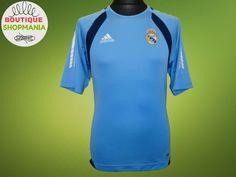 4336e722060 REAL MADRID Training 2005 La Liga (S) ADIDAS FOOTBALL SHIRT Soccer Camisa  Maillo  ADIDAS  REALMADRID footballshirt  soccer  footballjersey  barca ...