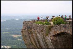 Rock City only the only place in the U.S. That you can see 7 states from..and it's here in Chatanooga T.N. I definitely want to go there someday <3 rock city | Rock City, Lover's Leap. Chattanooga, Tennessee.