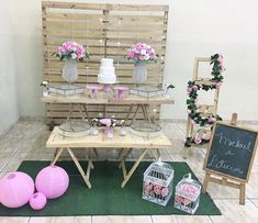 Ideas Bautizo, Mermaid Party Decorations, Ideas Para Fiestas, Baby Decor, Boy Birthday, Ladder Decor, Diy Wedding, Backdrops, Baby Shower