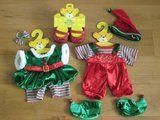 Build a bear christmas elves outfit sets. - £10 - #Bargain, #Bargains, #BargainsBristol, #Bristol, #BristolForSale, #BusinessInBristol, #ForSaleBristol - http://sellitsocially.co.uk/sell-it-socially/bristol/build-a-bear-christmas-elves-outfit-sets-10/