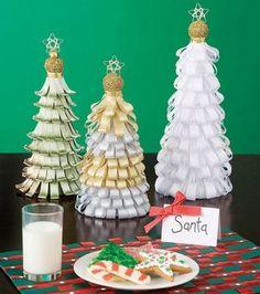 Ribbon Christmas Trees