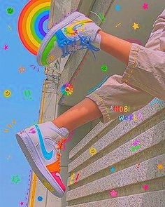 Aesthetic Indie, Aesthetic Shoes, Rainbow Aesthetic, Bad Girl Aesthetic, Aesthetic Collage, Aesthetic Vintage, Bedroom Wall Collage, Photo Wall Collage, Picture Wall