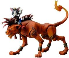 Final Fantasy VII Play Arts Vol. 2 Action Figure - Red XIII & Cait Sith No. 4