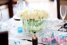 Kwiaty na stół komunijny, weselny, urodzinowy