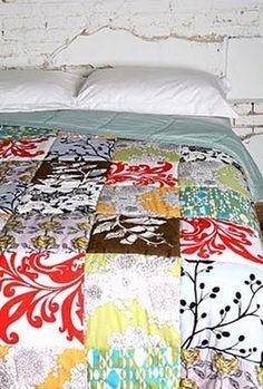 Mrs Boho: Habitaciones: colchas de patchwork