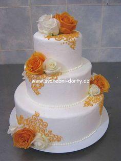 Svatební dorty » klasické svatební dorty