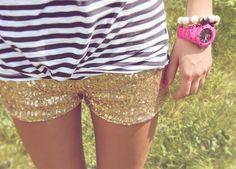 i need these sparkle shorts.