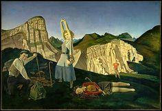 The Mountain Balthus (Balthasar Klossowski) (French, Paris 1908–2001 Rossinière) Date: 1936–37