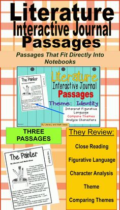 This document contains three short stories that can fit directly into student notebooks!  Each story teaches the theme identity, and they are great for close reading practice.  Students review figurative language, characterization, themes, comparing how authors convey themes, and plot.