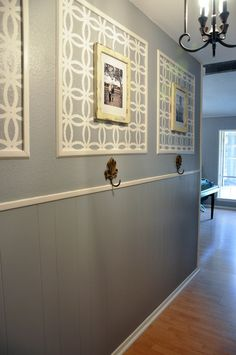 renovation wrap up before and after pics molding ideas and picture frame molding - Moulding Designs For Walls