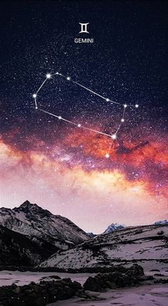 Gemini, The Twins -Zodiacal Constellation