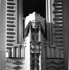 Detail, Penobscot Building, Detroit, Michiganvia gjones999  Incredible late 1920s work.  gjones999:    Detail of the Penobscot building.  Detroit, Michigan, United States.  Built 1928.