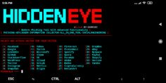 HiddenEye - Modern Phishing Tool With Advanced Functionality (Android-Support-Available) Best Hacking Tools, Hacking Books, Hacking Websites, Life Hacks Websites, Cool Websites, Life Hacks Computer, Computer Basics, Computer Science, Security Tools