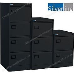 Silverline Executive Filing Cabinets £99 - Filing Cabinets