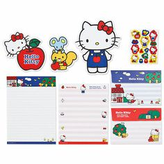 Hello Kitty Letter Set SANRIO from Japan