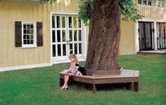 This charming and comfortable place to sit might just become your favorite outdoor spot